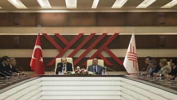 YÖK Başkanı Prof. Dr. Saraç ve Sağlık Bakanı MehmetMüezzinoğlu
