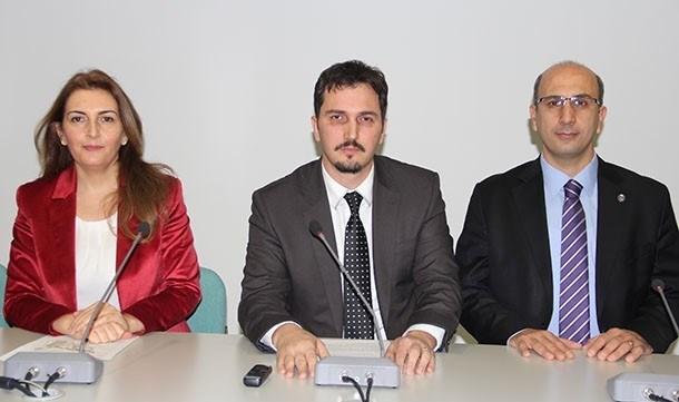 GMO Bursa Şube Başkanı Serkan Durmuş (ortada), ''At eti kullananlar teşir edilsin'' dedi.