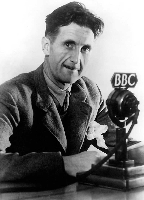 """""""1984""""ün yazarı George Orwell"""