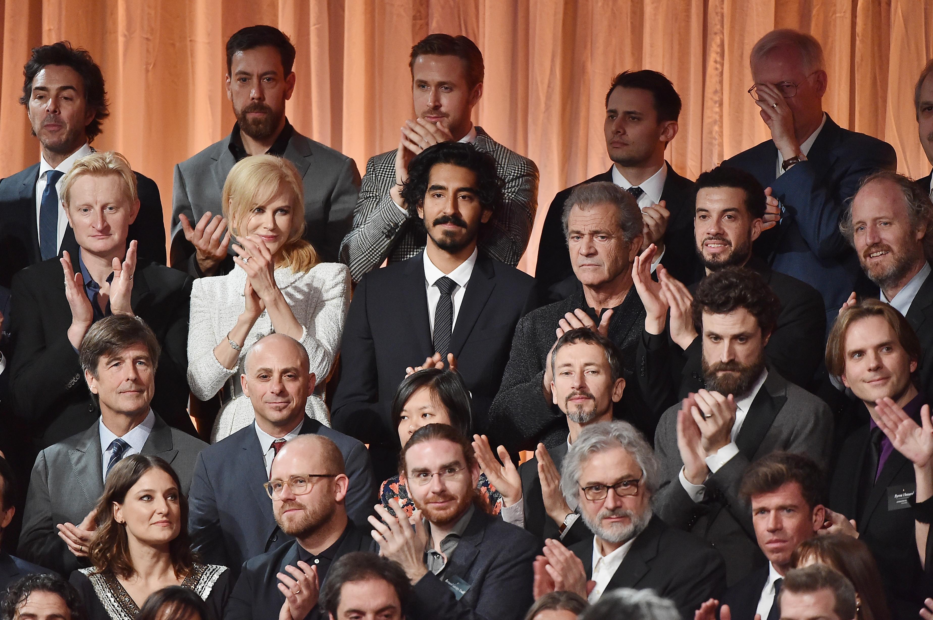 Oscar nominees class photo 2016 NOMINEES « BEFFTA AWARDS