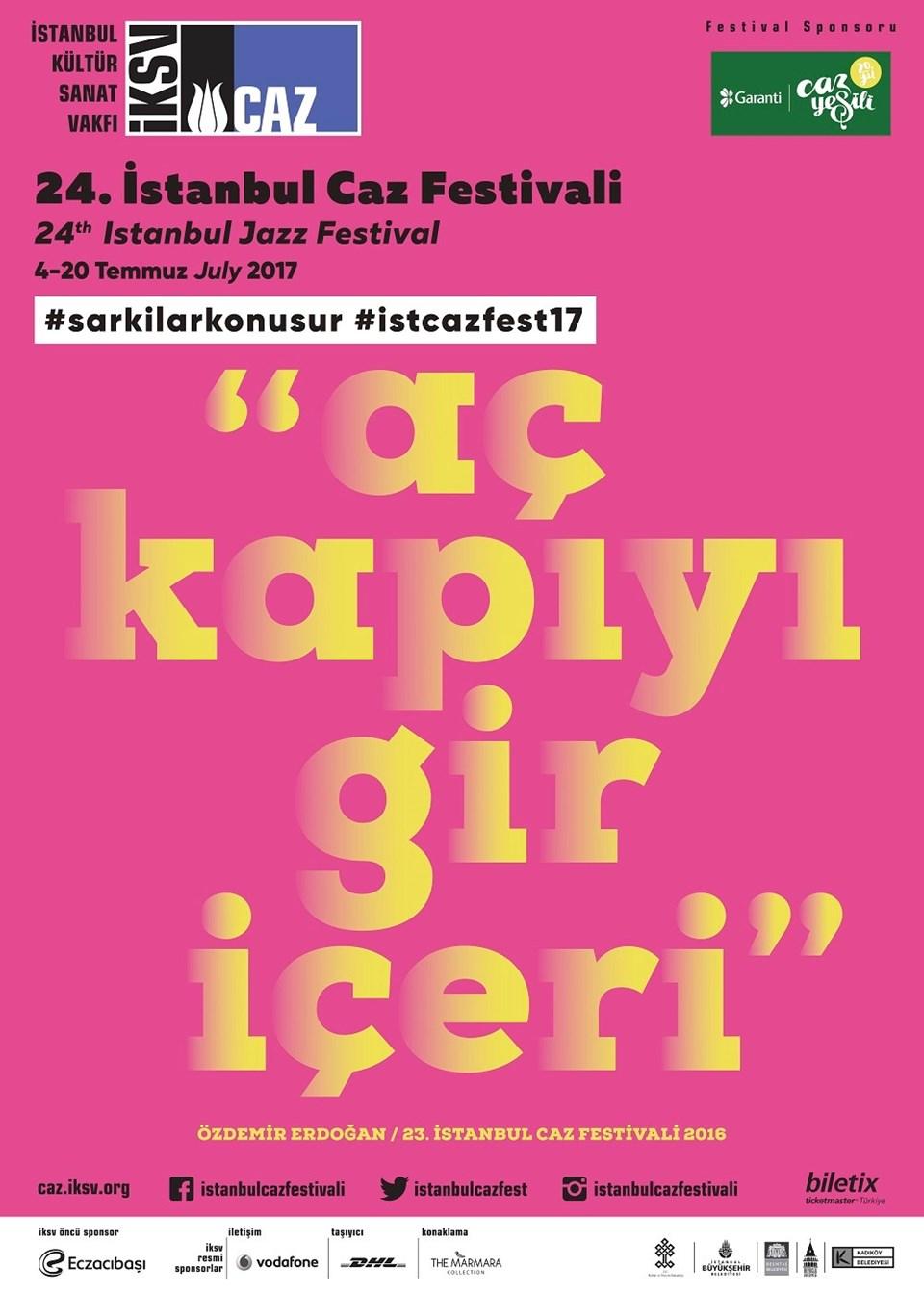 Festivalin bu yılki sloganı adını Özdemir Erdoğan'ın şarkısından alıyor.