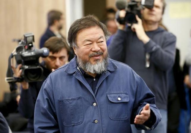 Çinli sanatçı Ai Weiwei 58 yaşında.