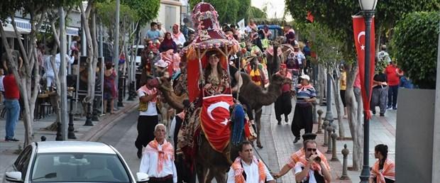 Alanya Uluslararası Turizm ve Sanat Festivali 19. kez düzenleniyor (Deve üzerinde kortej)
