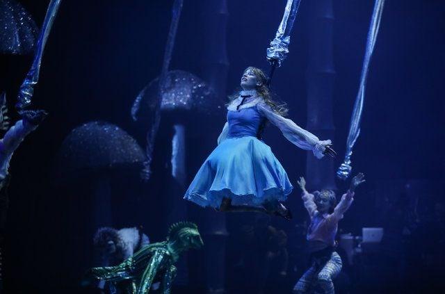 Alice Müzikali, Alice Harikalar Diyarında, BKM, Zorlu PSM, Serenay Sarıkaya, Enis Arıkan, Ezgi Mola, Şükrü Özyıldız, Merve Dizdar, İbrahim Selim