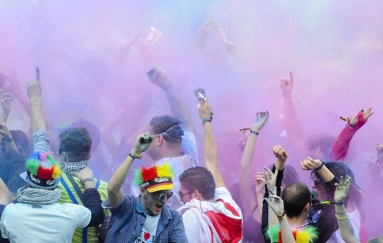 Almanya'da renk cümbüşü