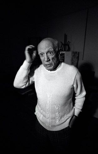 Ara Güler- Pablo Picasso