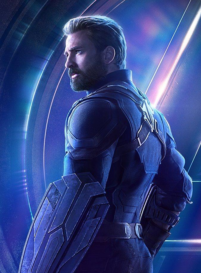 Chris Evans/ Steve Rogers- Captain America