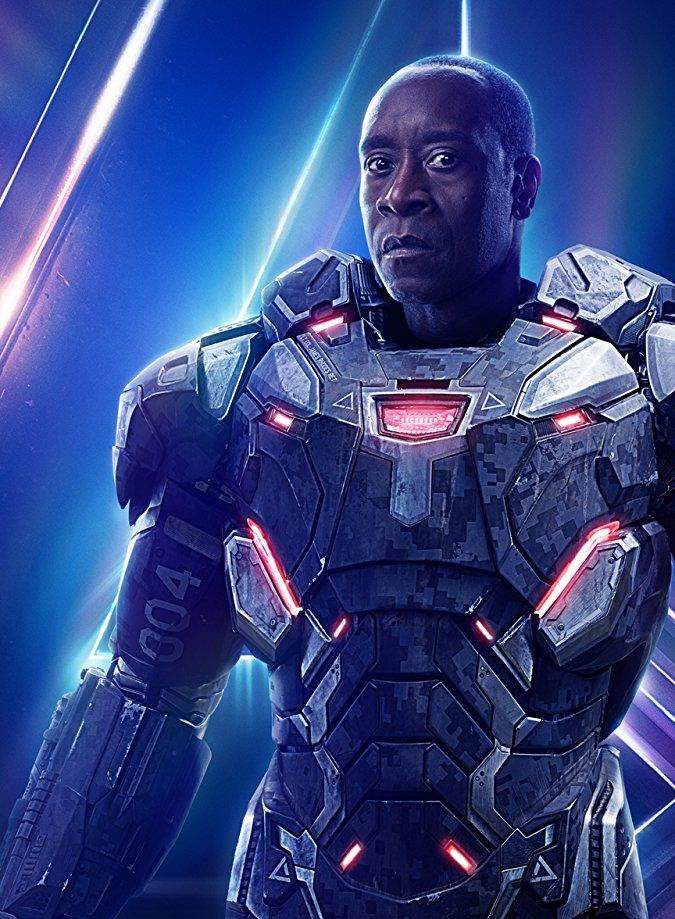 Don Cheadle/ James Rhodes - War Machine