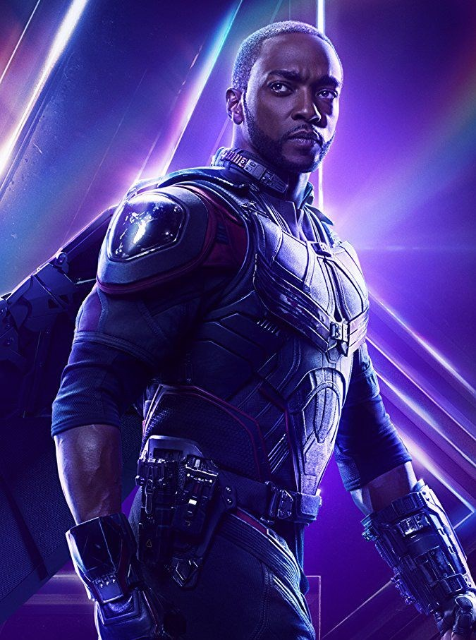 Anthony Mackie/ Sam Wilson - Falcon