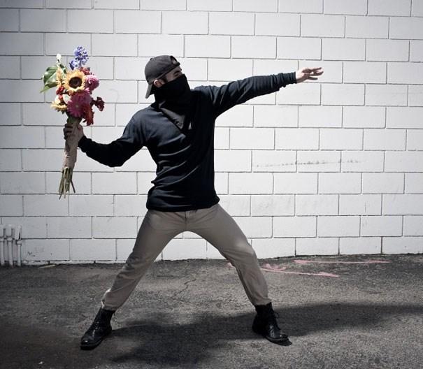 Banksy'nin eserleri gerçek oldu
