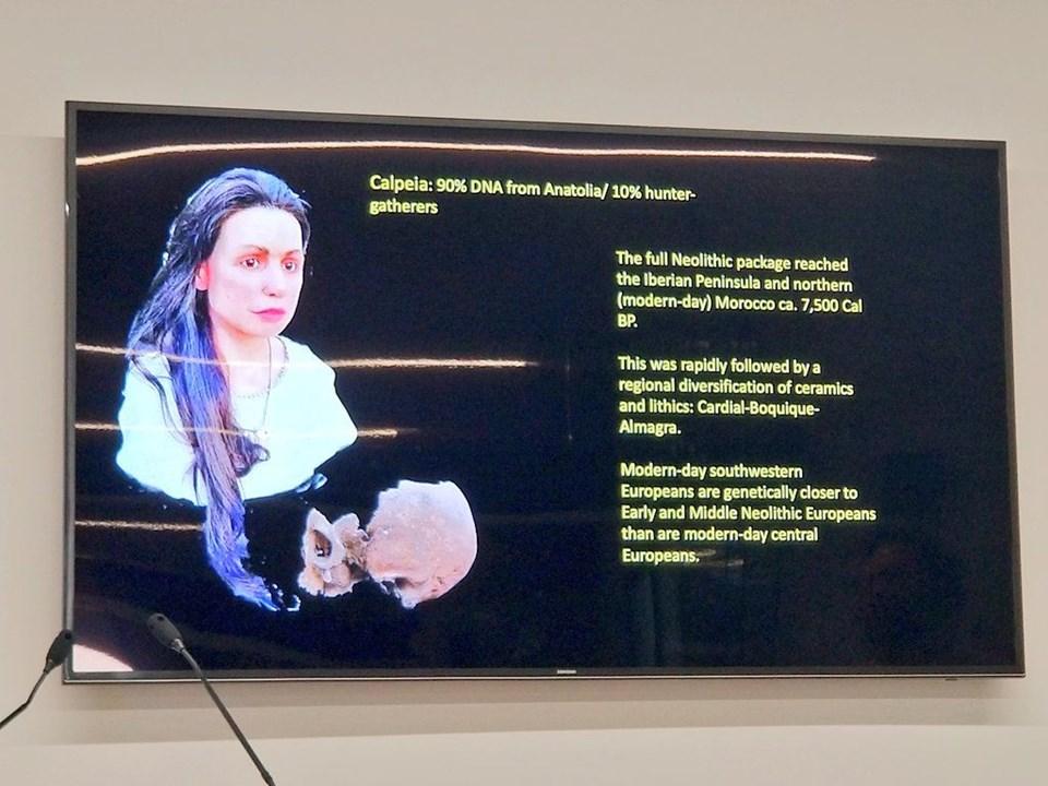 Bilim insanları, 7 bin 500 yıl önceki Anadolu kadınının yüzünü modelledi
