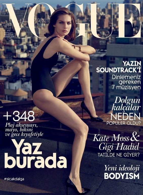 Vogue Haziran sayısı bayilerde...