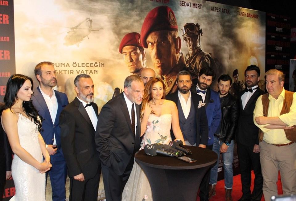 Bordo Bereliler Suriye filmi 7 Nisan'da vizyonda