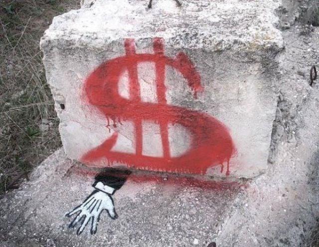 Bu 'Banksy' Ukrayna'dan