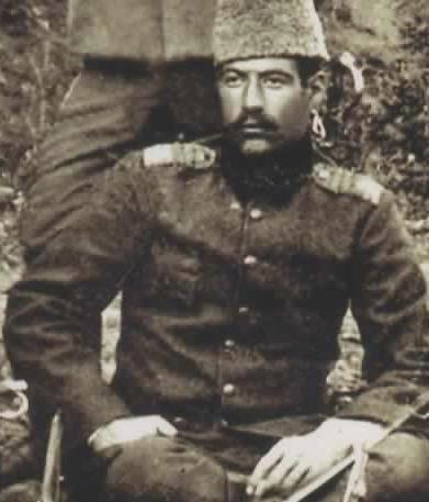 Yüzbaşı Yusuf Kenan. 25 Nisan 1915'te Çanakkale Kirte'de kahramanca savaşırken şehit düşmüştü.