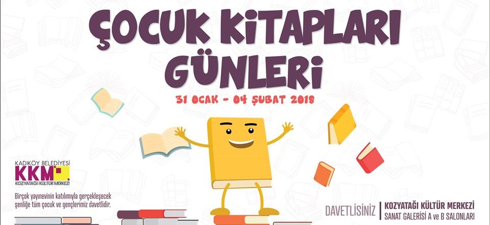 Çocuk Kitap Günleri 4 Şubat'a kadar Kozyatağı Kültür Merkezi'nde ücretsiz olarak ziyaret edilebilecek.