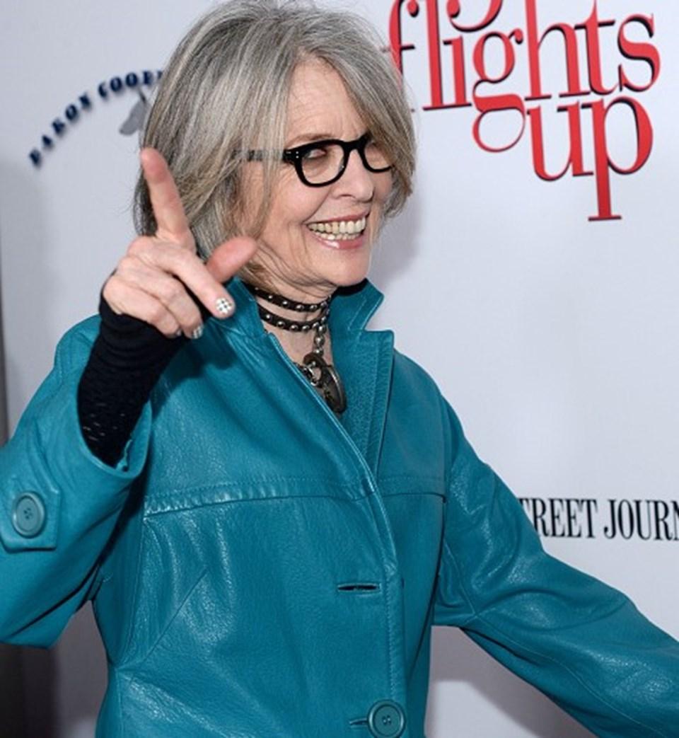 Diane Keaton Grinin Elli Tonu Benim Için Fazla Heyecanlı Ntv