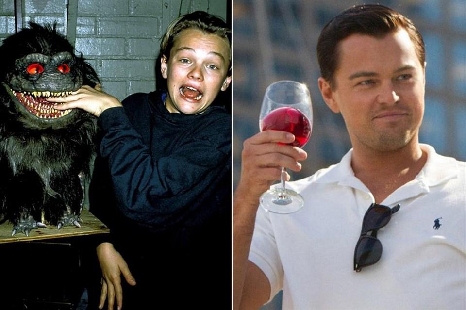 DiCaprio'nun dünü ve bugünü
