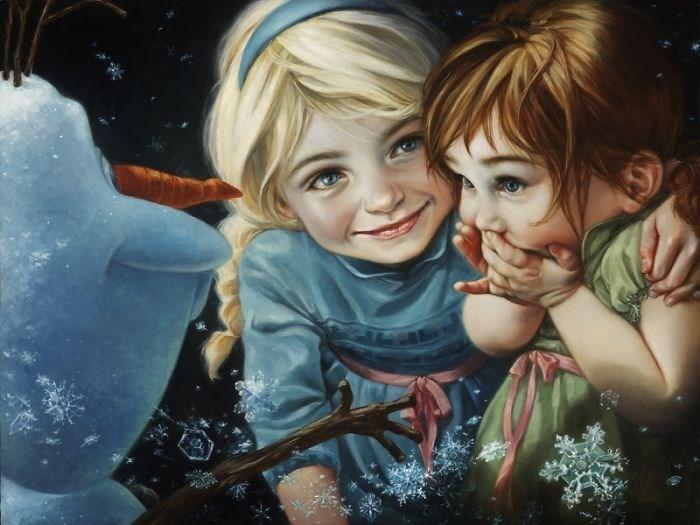 lsa, Anna ve Olaf