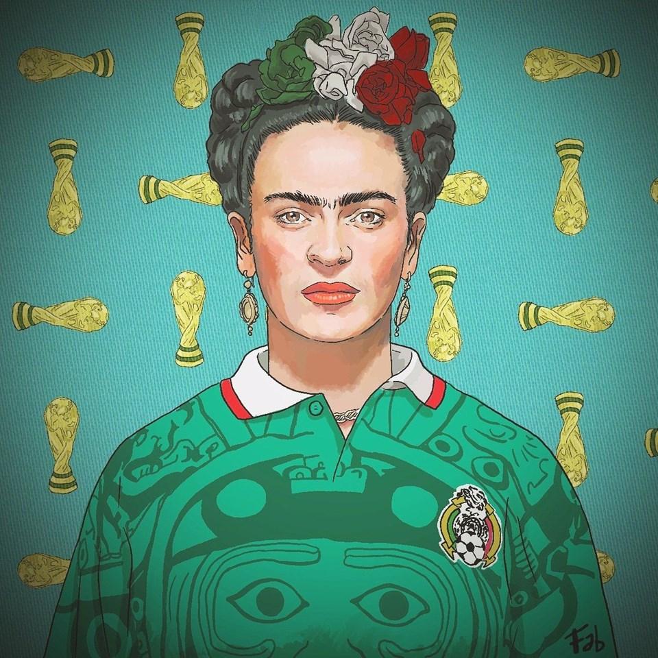 FRIDA KAHLO- MEKSİKA