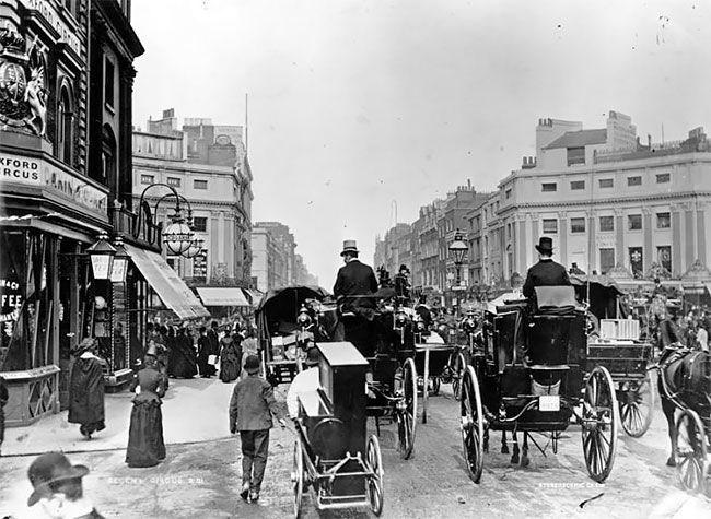 Oxford Circus, 1888
