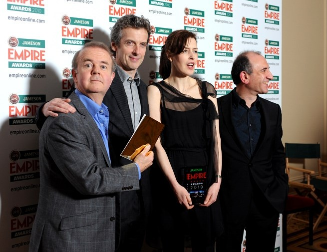 Ian Hislop, Peter Capaldi, Gina McKee ve Armando Iannucci