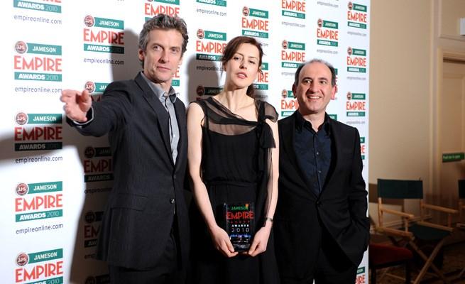 Peter Capaldi, Gina McKee ve Armando Iannucci