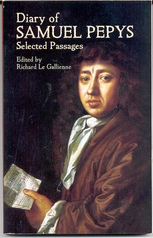 the life of samuel pepys A real slice of history in which richard wistreich reads extracts from the diary relating to pepys' musical experiences and sings some of pepys' favourite songs.
