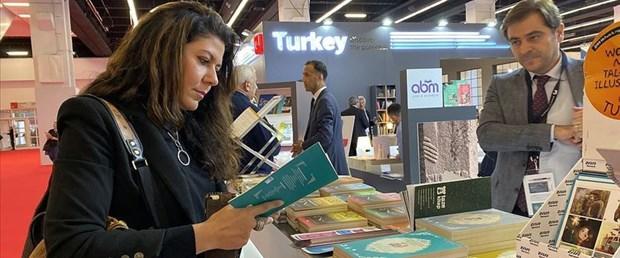 Frankfurt Kitap Fuarı'nda Türkiye standı