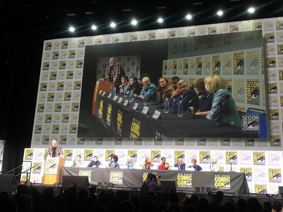 Game of Thrones oyuncuları Comic Con Festivali'de katılımcıların sorularını yanıtladı.