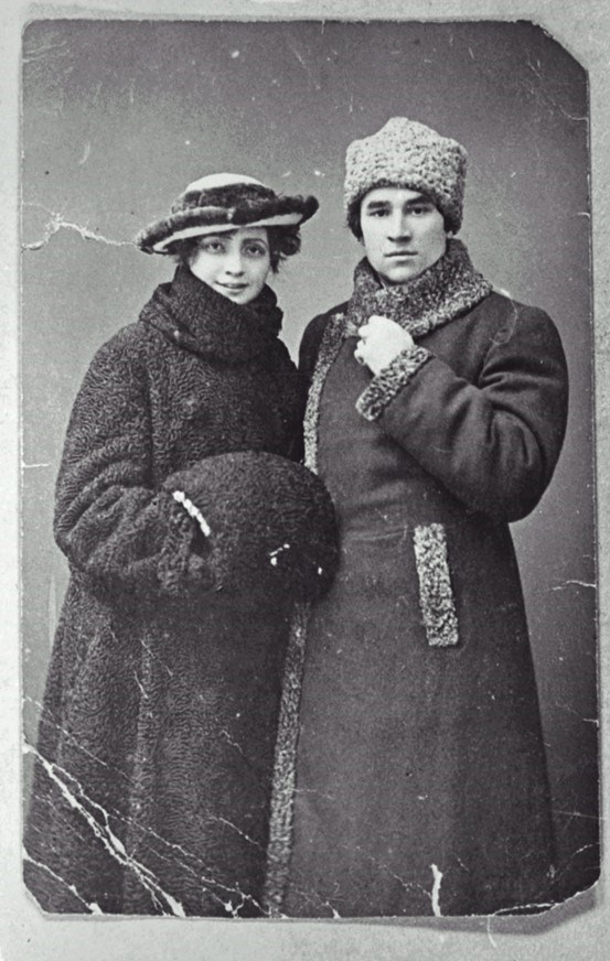 Sultangaliyev ve ikinci eşi Fatma İrizina (1921)