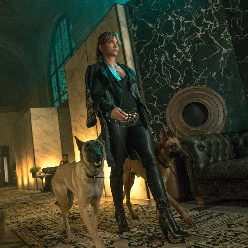 Halle Berry John Wick 3 Parabellum Setinde John Wick 3 Oyuncu