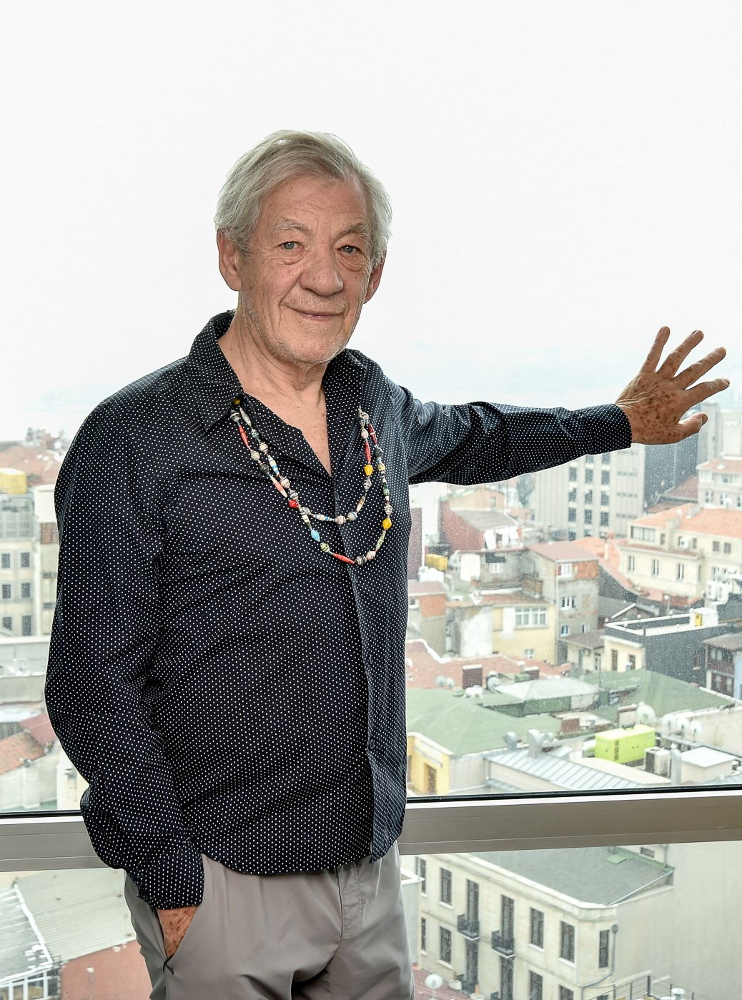 Ian McKellen İstanbul'da