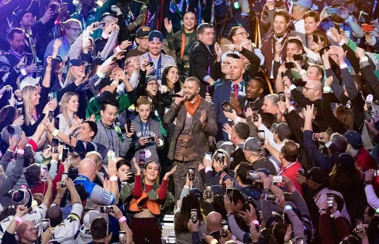 Justin Timberlake, Super Bowl, Prince, müzik, konser, sahne performansı