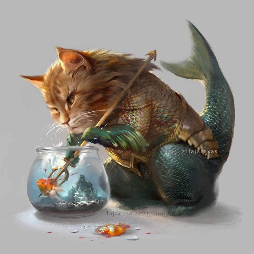 AquaCat (Aquaman karakteri)