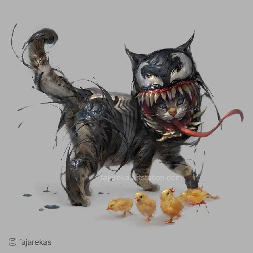 Venom Cat (Venom karakteri)