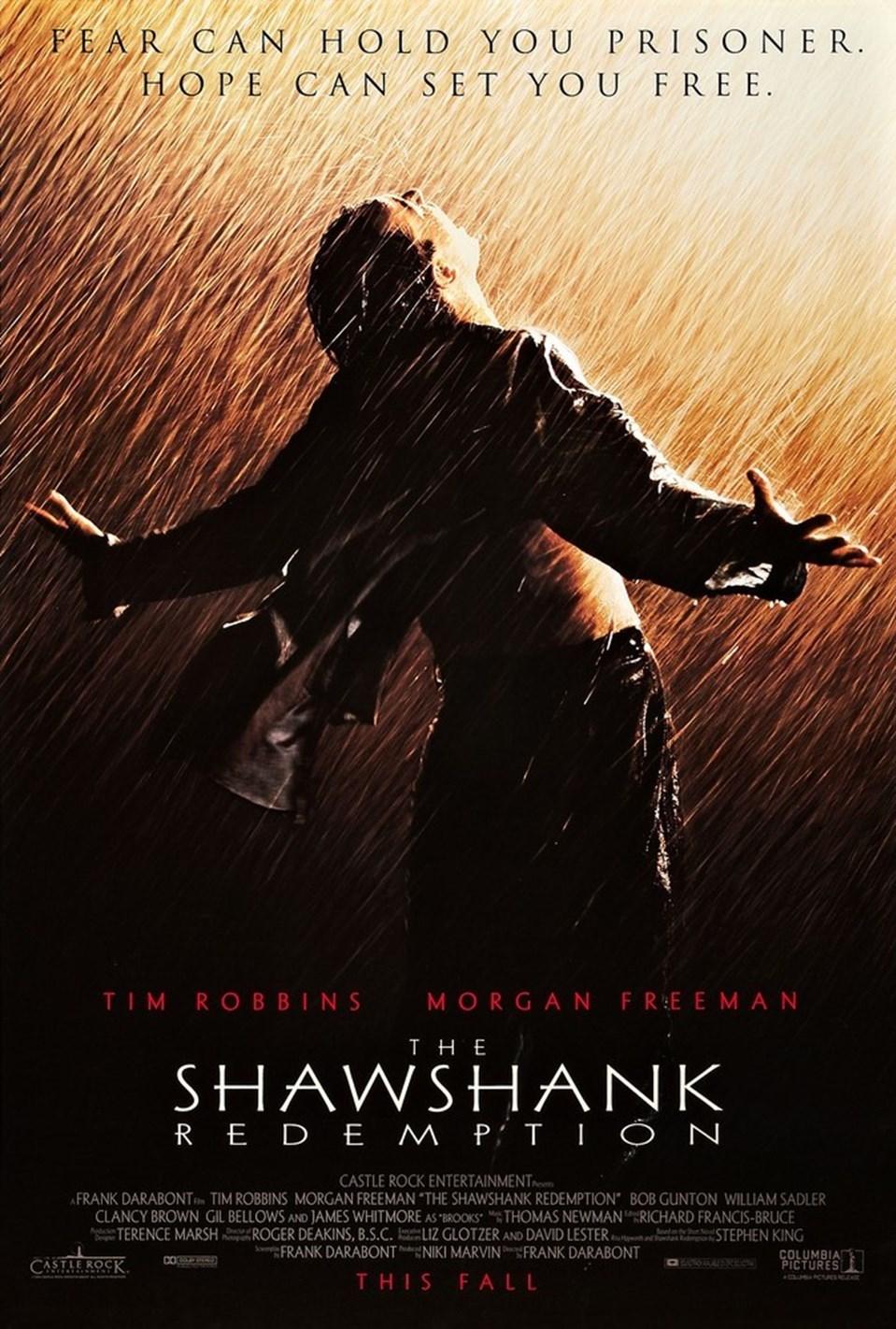 Esaretin Bedeli tüm zamanların en iyi filmi olarak kabul ediliyor.