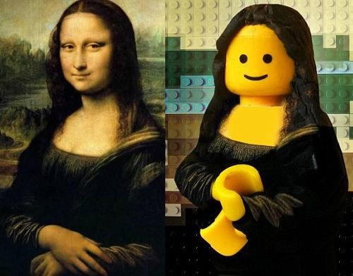 Legolarla canlanan sanat