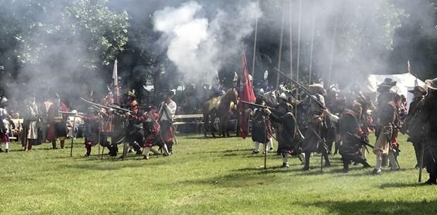 Macaristan'da düzenlenen Osmanlı Festivali'nden renkli kareler (Temsili savaş)