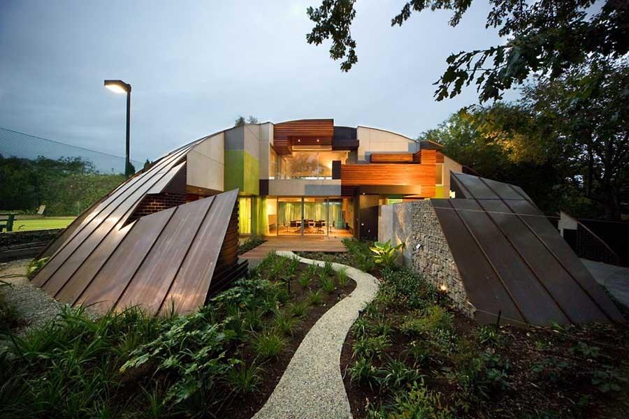 Modern mimariye sahip ev tasarımları