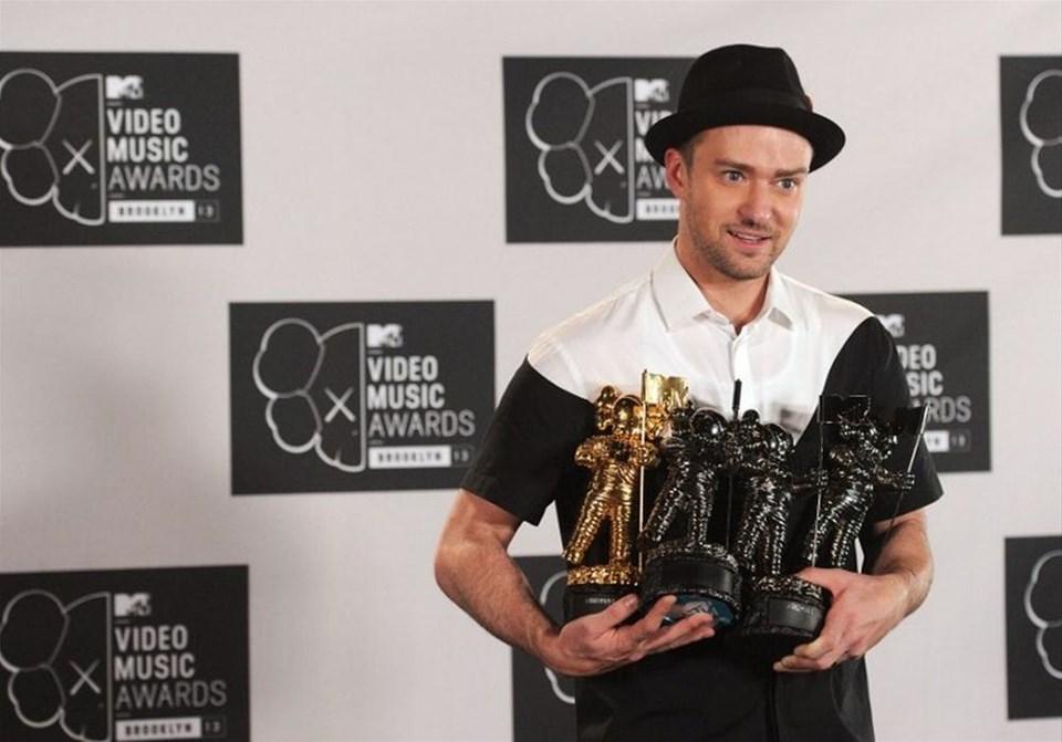 MTV Ödülleri'nde Timberlake damgası