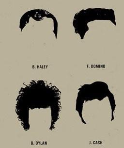Müzisyenin iyisi saç modelinden belli