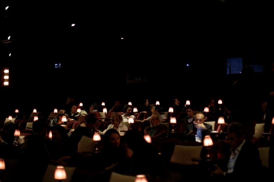 Anons filminin ön gösterimi 17 Ekim Çarşamba akşamı Soho House'ta gerçekleşti.