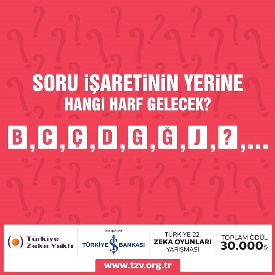 Yarışmayı kazanan kişi 30 bin liralık ödülün sahibi olacak.
