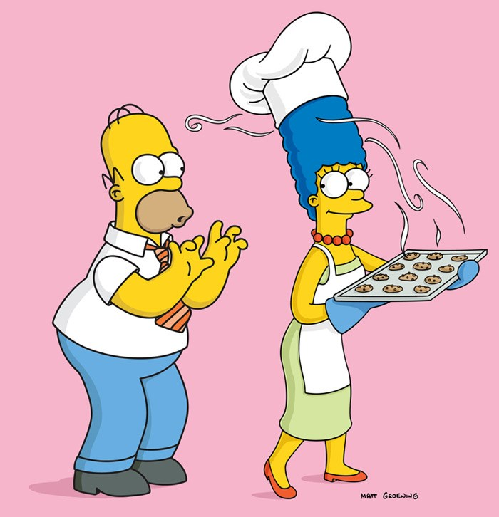 1- Homer Simpson, The Simpsons