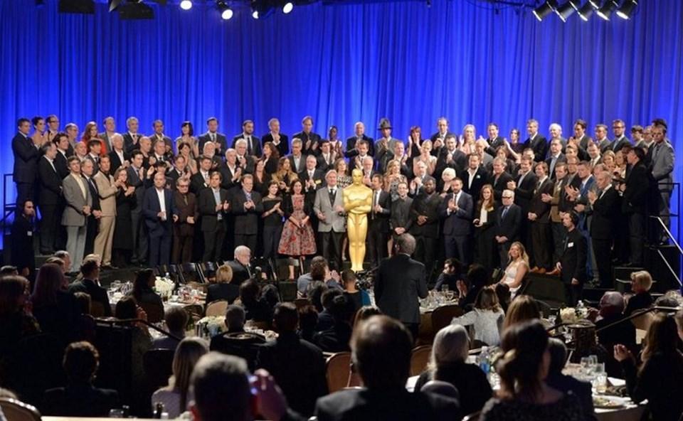 Oscar adayları buluştu