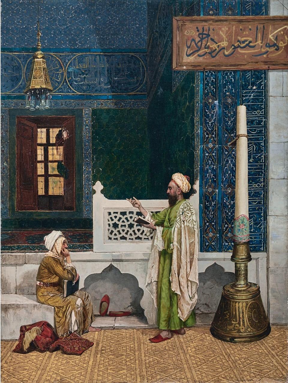 Osman Hamdi Bey'in tablosuna İngiltere'de 35 milyon lira