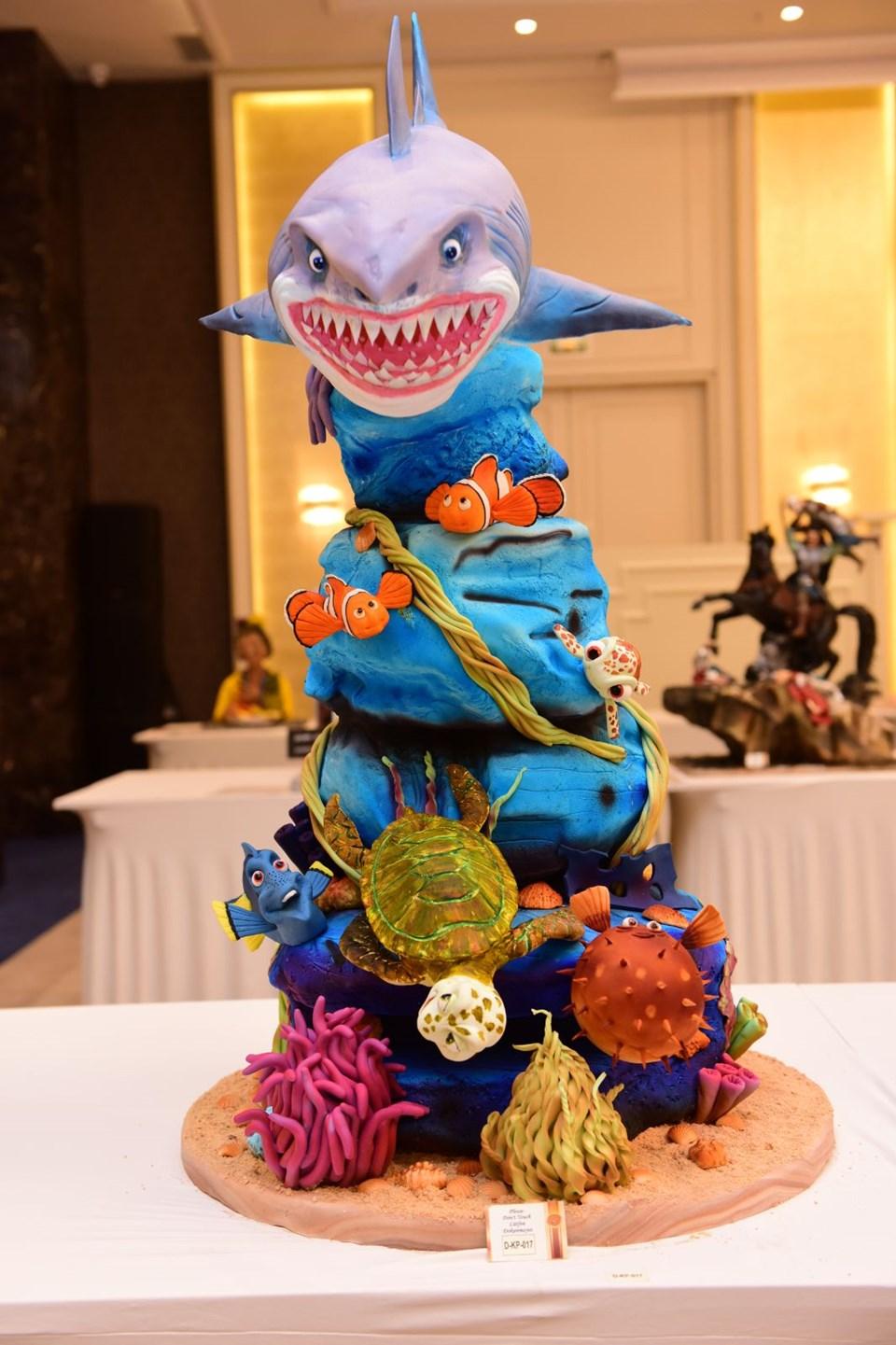Master Of Cake Başkent Pasta Yarışması ve Pastacılık Festivali, pasta