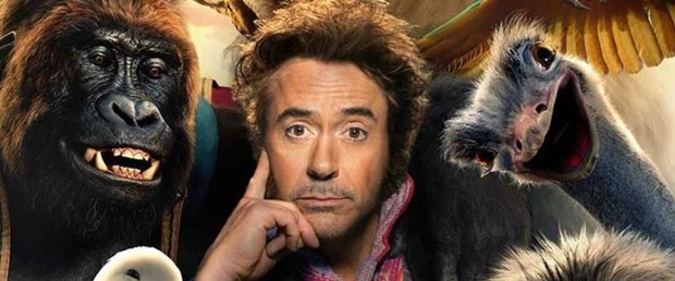 Robert Downey Jr'lı Dolittle'dan yeni afiş