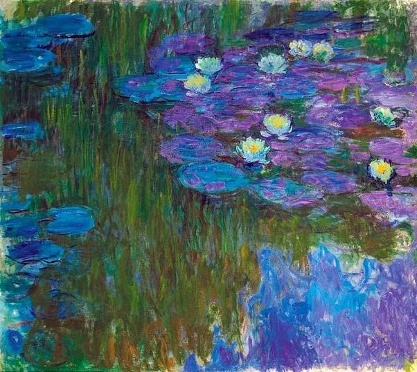"""""""Flowering Water Lilies"""" tablosu"""